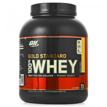Optimum Nutrition 100 % Whey protein Gold standard 2270 гр