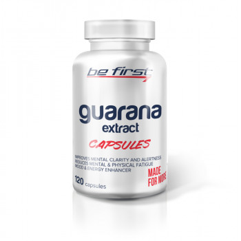 Be First Guarana extract 120 капсул