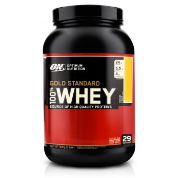 Optimum Nutrition 100 % Whey protein Gold standard 907 гр