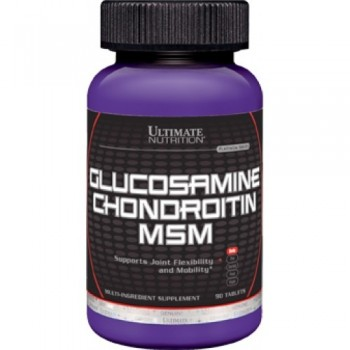 Ultimate Nutrition Glucosamine-Chondroitin-MSM 90 таблеток