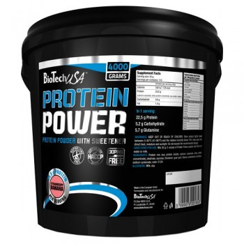 BioTech USA Protein power 4000 гр