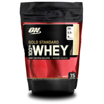 Optimum Nutrition 100 % Whey protein Gold standard 454 гр