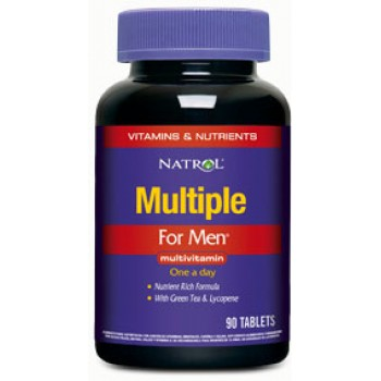 Natrol Multiple for Men Multivitamin 90 таблеток