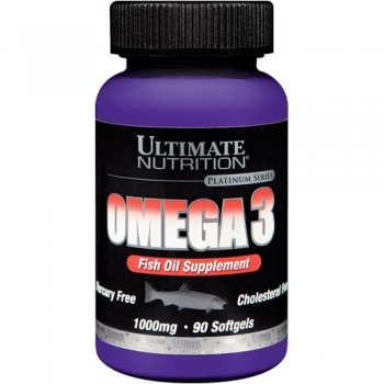 Ultimate Nutrition Omega 3 90 капсул