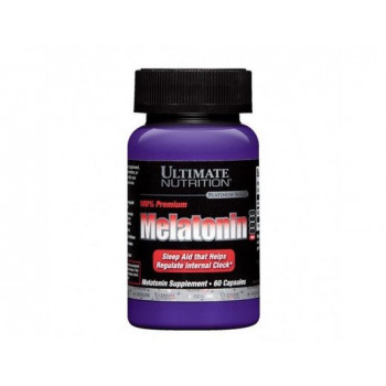 Ultimate Nutrition Melatonin (3mg) 60 капсул