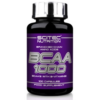 Scitec Nutrition BCAA 1000 100 капсул